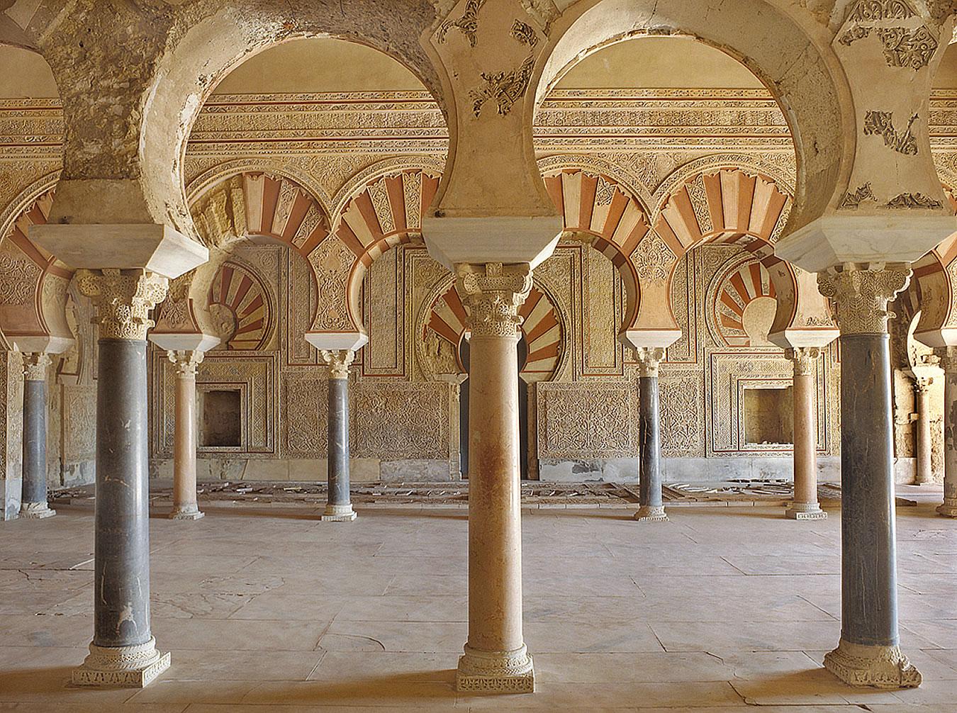 Salón de un palacio de Medina Azahara