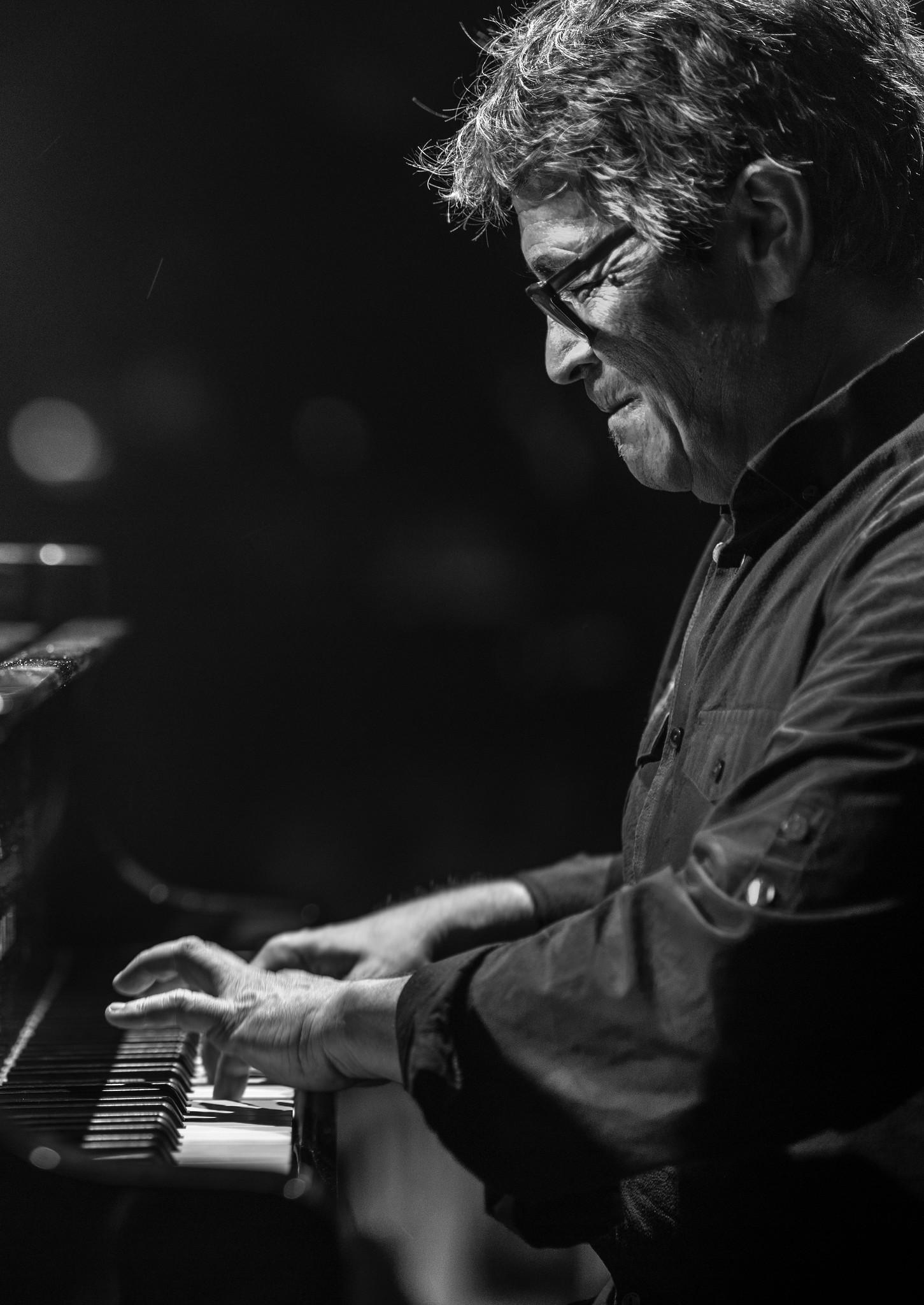 Imagen del músico Chano Domínguez