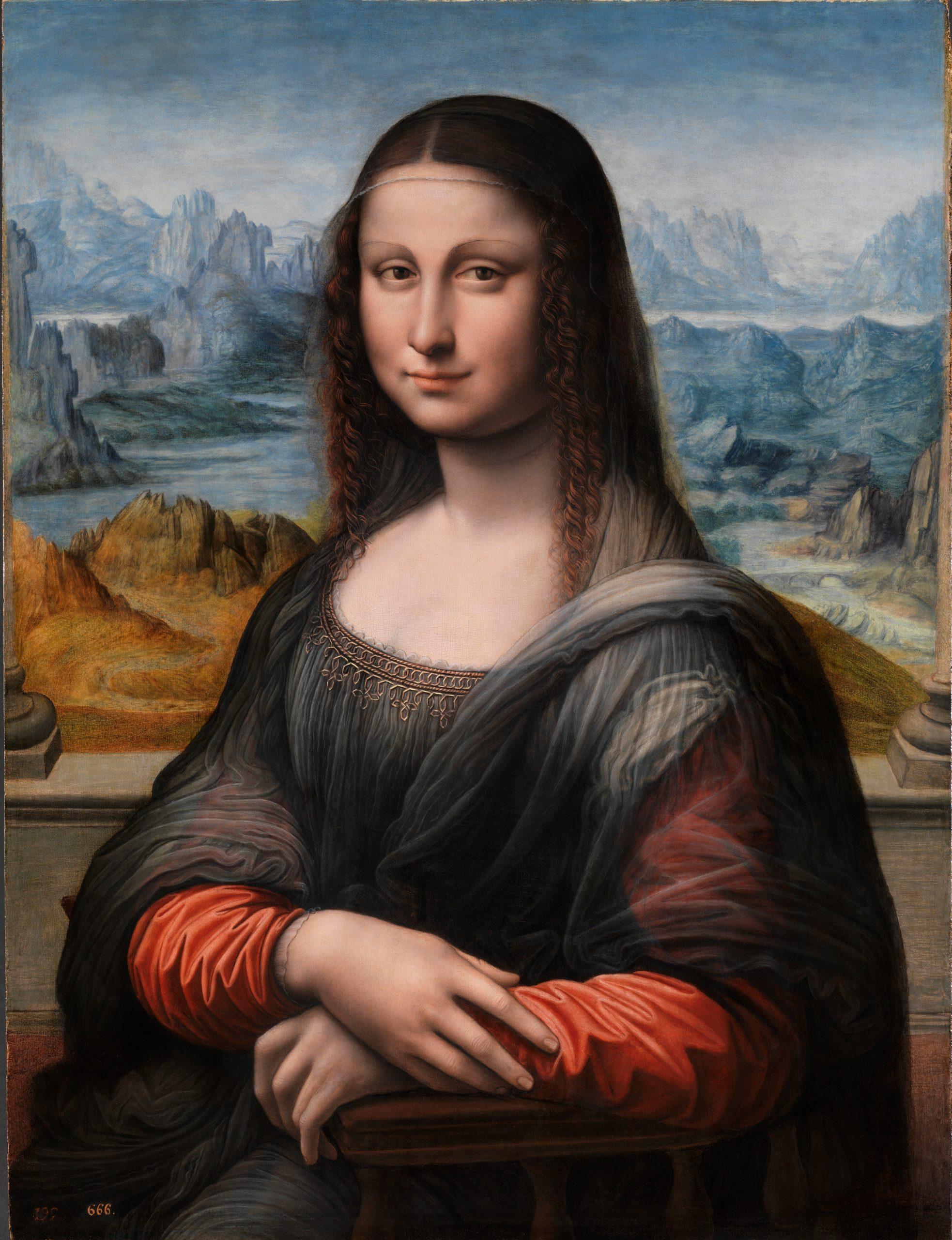 Imagend el cuadro Gioconda de El Prado
