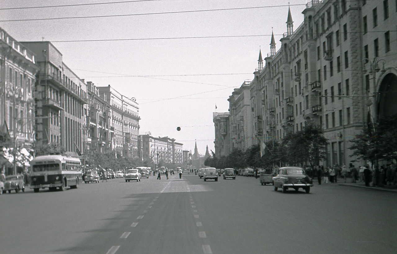 Imagen de Moscú en 1957