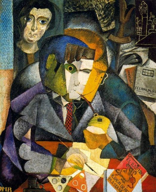 Retrato de Ramón por Diego Rivera